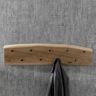 Garderobenhakenleiste aus Akazie Massivholz Loft Design