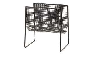 Stuhl Set in Anthrazit Kunstleder Bügelgestell (2er Set)