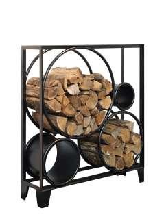 Serax - Holzregal - niedrig - schwarz - outdoor