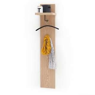 Hängegarderobe in Eiche Bianco furniert 30 cm breit