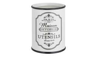 for friends Utensilienhalter  Paris ¦ weiß ¦ Steinzeug ¦ Maße (cm): H: 14 Ø: 10.2 Küchenzubehör & Helfer > Vorratsbehälter - Höffner