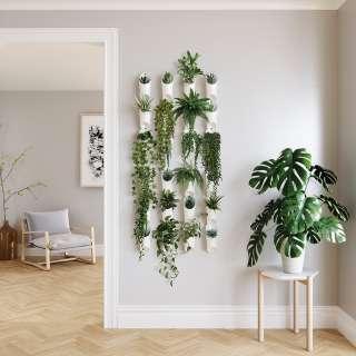 home24 Wandvase Floralink (3er-Set)