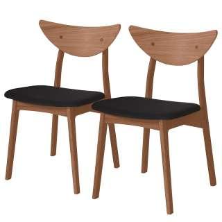 Design Garderobenständer in Grau und Dunkelbraun 170 cm hoch