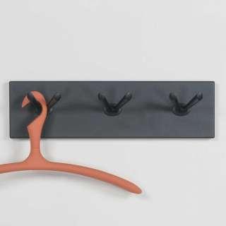 Wandhaken in Schwarz 45 cm breit