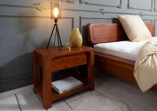 Nachttisch Akazie 60x40x50 honig lackiert BUENO #025