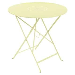 Fermob - FLOREAL Tisch - A6 Zitronensorbet -  Ø 77 - outdoor