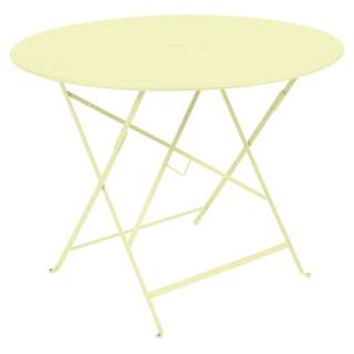 Fermob - FLOREAL Tisch - A6 Zitronensorbet -  Ø 96 - outdoor