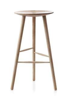 applicata - Di Volo Hocker 75cm - oak - indoor