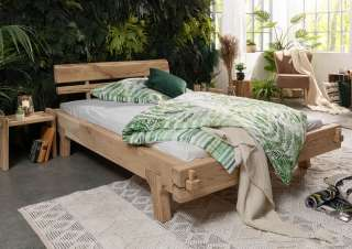 Design Wohnzimmerregal mit variablen Metallkästen Eiche White Wash und Anthrazit