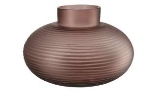 Peill+Putzler Vase ¦ lila/violett ¦ Glas  ¦ Maße (cm): H: 17 Ø: 25.5 Dekoration > Vasen - Höffner