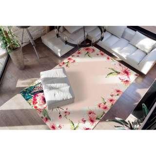 home24 Kurzflorteppich Blossom