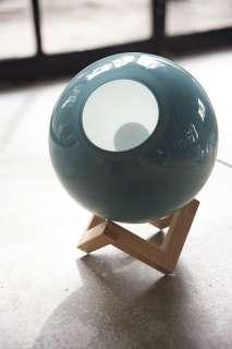 PER/USE - MCE Lamp M - eiche natur, Glas grün - indoor