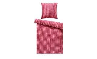 levelone Microfaser Bettwäsche  Punkte ¦ rosa/pink ¦ 100% Polyester ¦ Maße (cm): B: 135 H: 200 Bettwaren > Bettwäsche-Sets > weitere Bettwäschesets - Höffner
