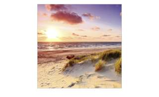 Glasbild 30x30 cm  Sea Harmony ¦ Maße (cm): B: 30 H: 30 Dekoration > Bilder & Schilder - Höffner