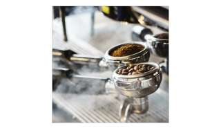 Glasbild 30x30 cm  Cafe II ¦ grau ¦ Maße (cm): B: 30 H: 30 Dekoration > Bilder & Schilder - Höffner