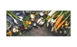 Glasbild 80x30 cm  Kitchen Utensils II ¦ Maße (cm): B: 80 H: 30 Dekoration > Bilder & Schilder - Höffner