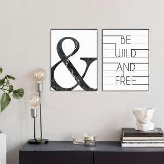 home24 Bildset Wild and free (2-teilig)