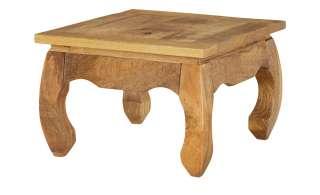 Opiumtisch  Torcello ¦ holzfarben ¦ Maße (cm): B: 60 H: 40 Tische > Couchtische > Couchtisch Massivholz - Höffner