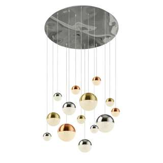 home24 LED-Pendelleuchte Planets
