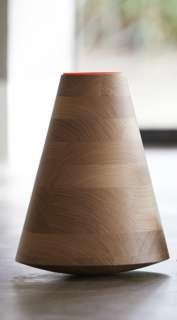 PER/USE - Etna Vase groß - eiche - weiß - indoor