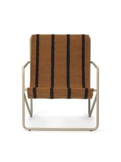 ferm LIVING - Desert Kinderstuhl - Polster: Stripe - cashmere - indoor