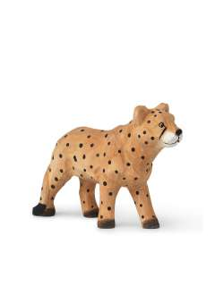 ferm LIVING - Animal Holztiere - Gepard - indoor