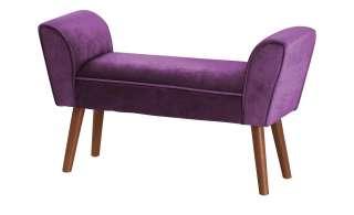 Playboy Bettbank  Tiffany ¦ lila/violett ¦ Maße (cm): B: 93 H: 55 T: 30 Bänke > Einzelbänke - Höffner