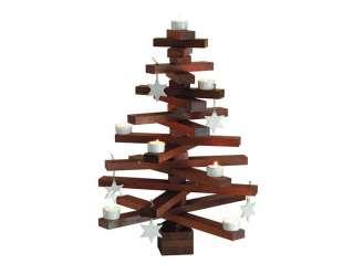 Raumgestalt - bauMsatz Weihnachtsbaum - Eiche - dunkel - indoor