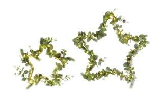 LED Stern, 2er Set ¦ grün ¦ Metall, Kunststoff Aktuelle Gutschein Aktion > Schlafzimmer Aktion - Höffner