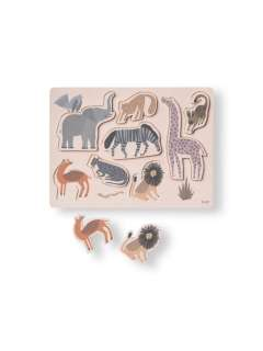 ferm LIVING - Safari Puzzle - - indoor