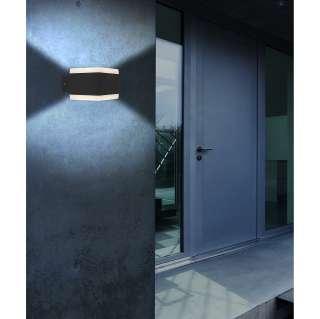 home24 LED-Wandleuchte Slice