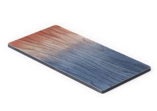 applicata - A tribute to wood Tapas Brett - blau/rot  - S - indoor
