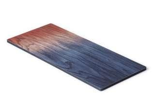 applicata - A tribute to wood Tapas Brett - blau/rot  - L - indoor