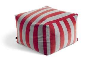 HAY - Pouf Soft Stripe Sitzpouf - fuchsia - indoor