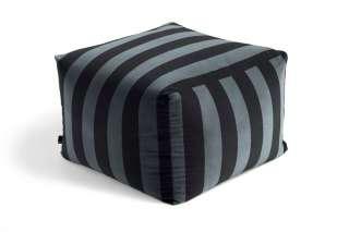 HAY - Pouf Soft Stripe Sitzpouf - hunter - indoor