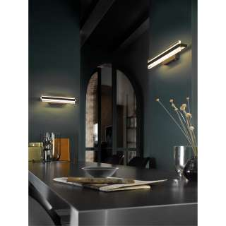 home24 LED-Wandleuchte Tredion