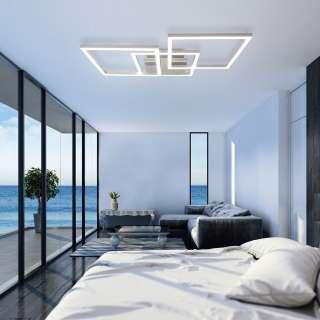 home24 LED-Deckenleuchte Pascal