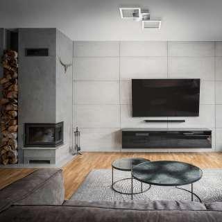 home24 LED-Deckenleuchte Drebin