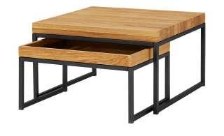 Couchtisch, 2er-Set  Isko ¦ holzfarben Tische > Couchtische > Couchtisch Massivholz - Höffner