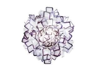 SLAMP - Clizia Wand-/Deckenleuchte - purple - L - indoor