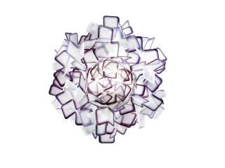 SLAMP - Clizia Wand-/Deckenleuchte - purple - S - indoor