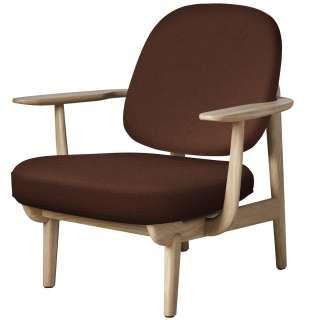 Runder Salontisch mit Massivholzplatte 3-Fußgestell aus Stahl