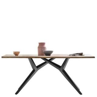 Bürodrehstuhl mit hoher Lehne Schwarz Kunstleder