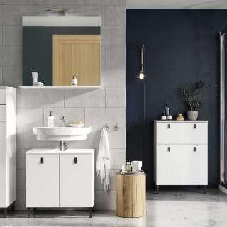 Badezimmer Set in Weiß modern (3-teilig)