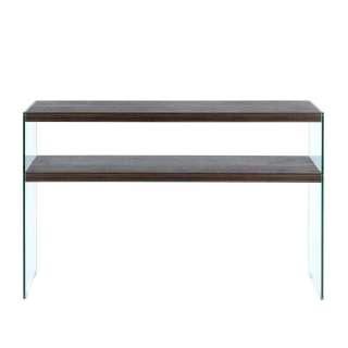 Flur Tisch in Nussbaumfarben 110 cm breit