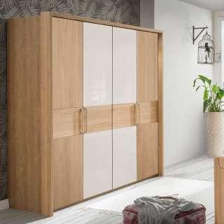 Vollholzschrank in Weiß aus Kiefer Landhaus Design
