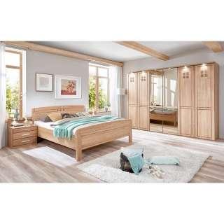 Schlafzimmerset aus Eiche teilmassiv Made in Germany (4-teilig)