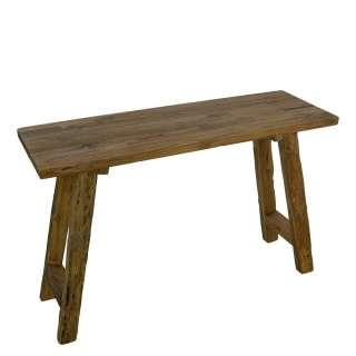 Tischkonsole aus Teak Recyclingholz 120 cm breit