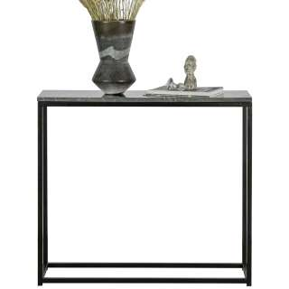 Konsolentisch mit Marmor Steinplatte 90 cm breit