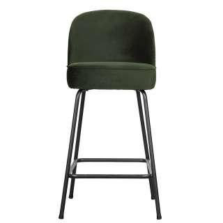 Stuhl in Schwarz Massivholzgestell in Buche gebleicht
